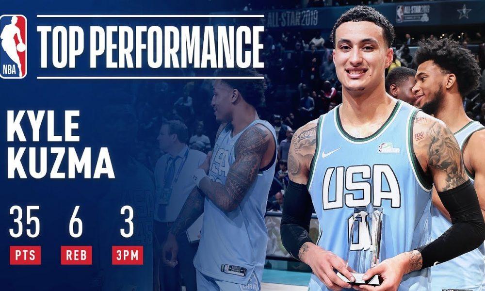Celebrity basketball mvp 2019