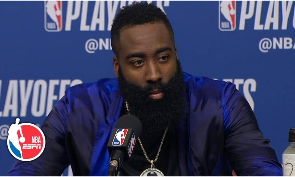 James Harden says getting MVP chants are normal to him ...
