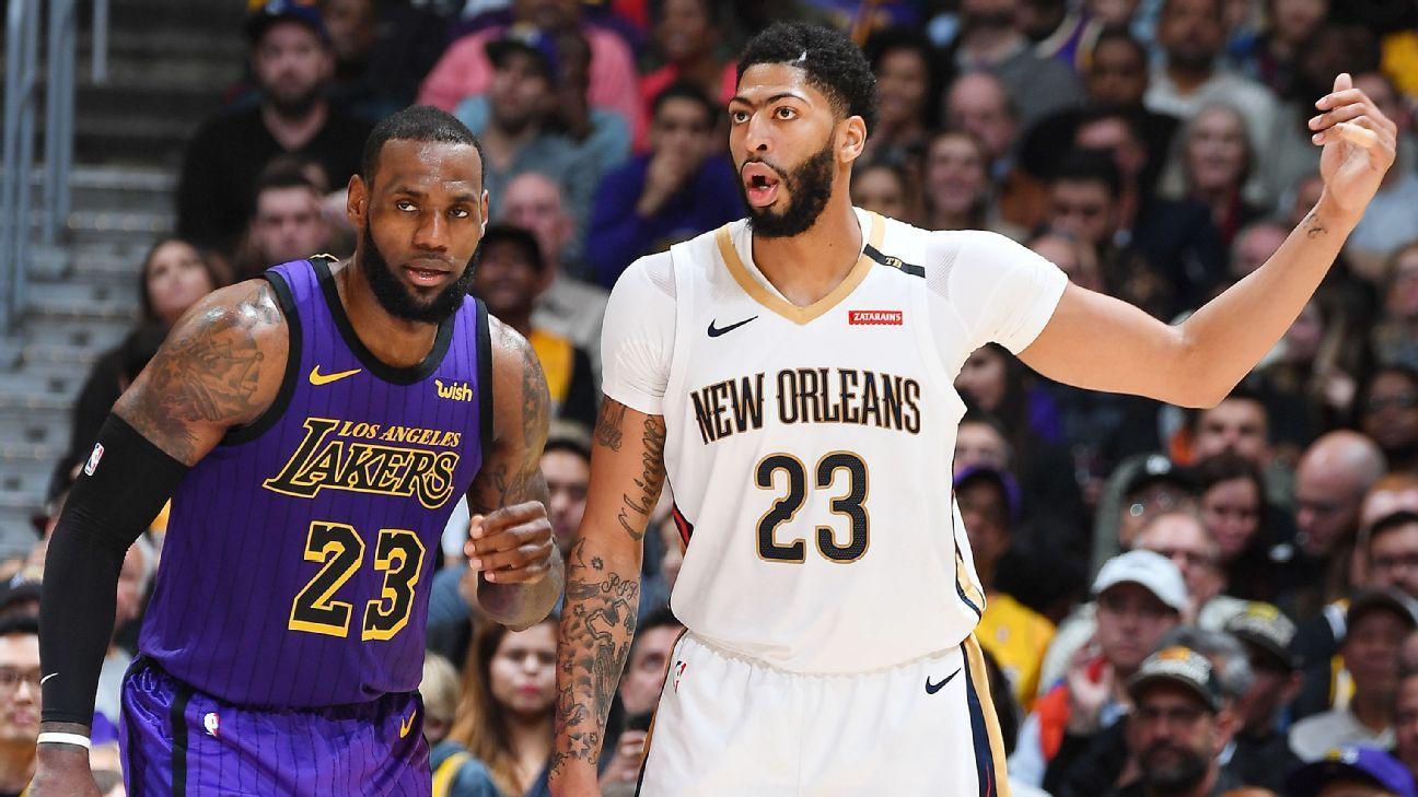 Sources: Lakers reach deal for Pelicans' Davis