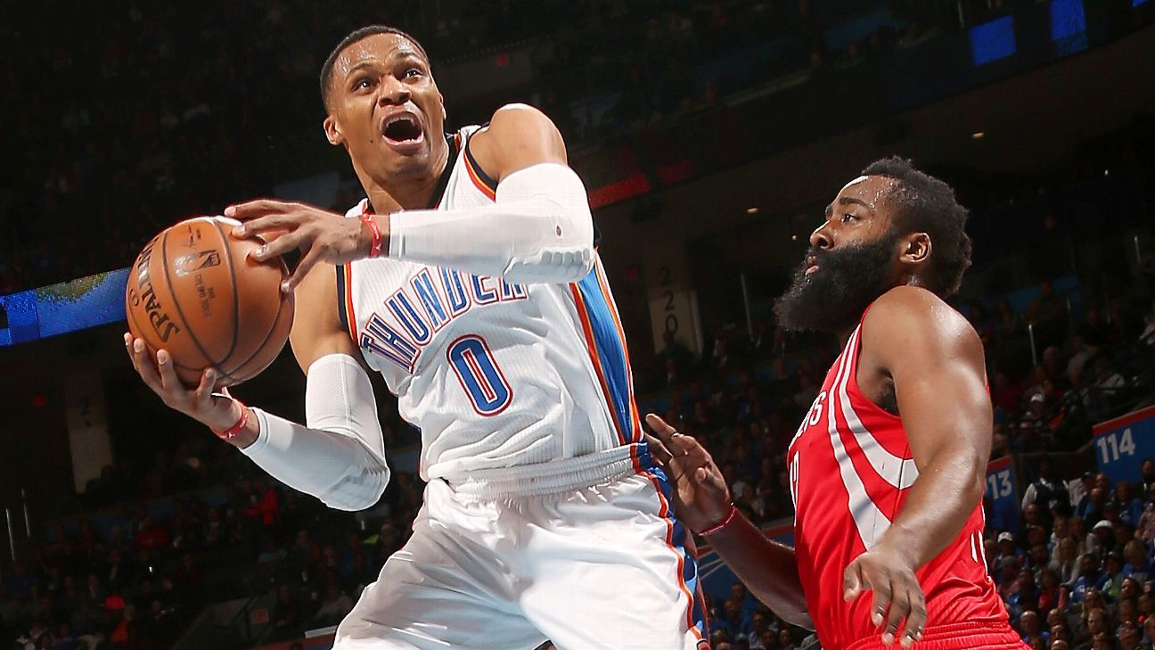 Sources: OKC trades Russ to Rockets for Paul
