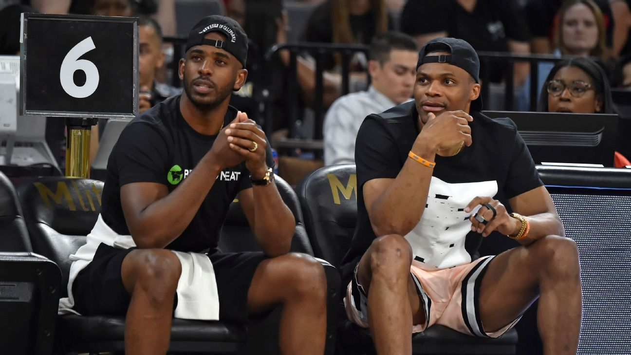 Best league ever? NBA players react to Westbrook-CP3 trade