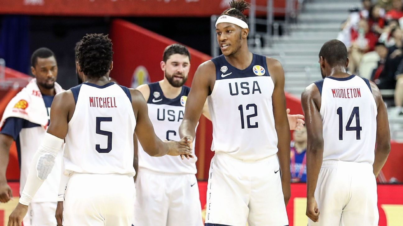 USA basketball events suspended due to virus