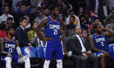 Beverley credits Lakers; James 'not hard' to guard
