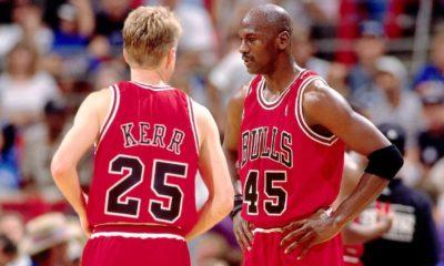 Steve Kerr on Michael Jordan's 1995 return: 'Thank you'