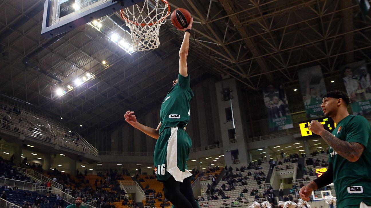 Greek guard Kalaitzakis declares for NBA draft
