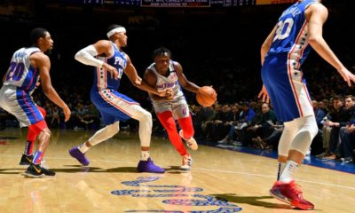 Pistons' Doumbouya in France to be near family