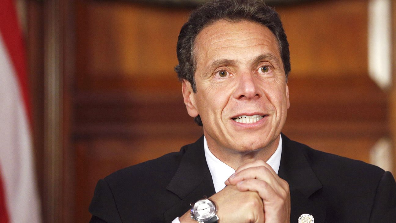Gov.: N.Y. 'willing, able partner' for sports' return