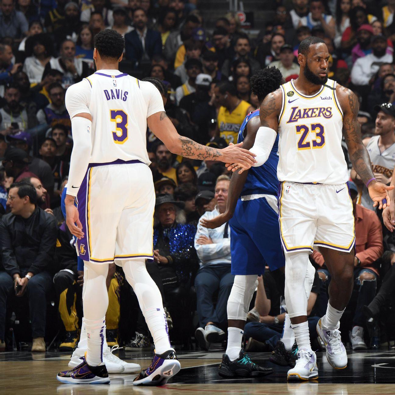 Davis: Lakers' title chances higher after long rest