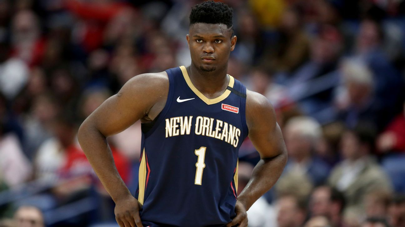 Zion's return to court a welcome sight for Pelicans