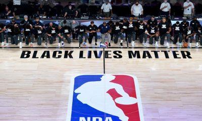 Jazz, Pels kneel during anthem as NBA returns