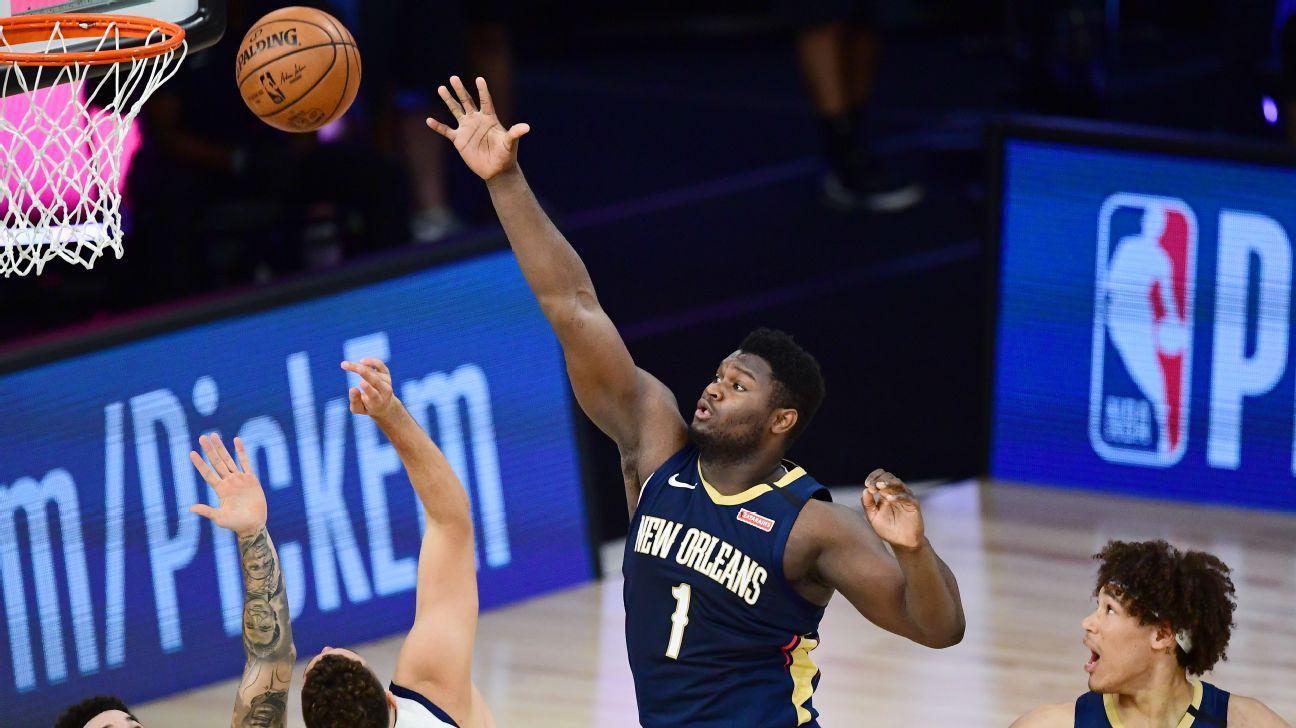 Griffin: Zion not ending quarters part of Pels' plan