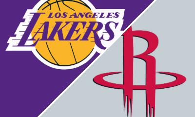 Follow live: Rockets take on LeBron-less Lakers