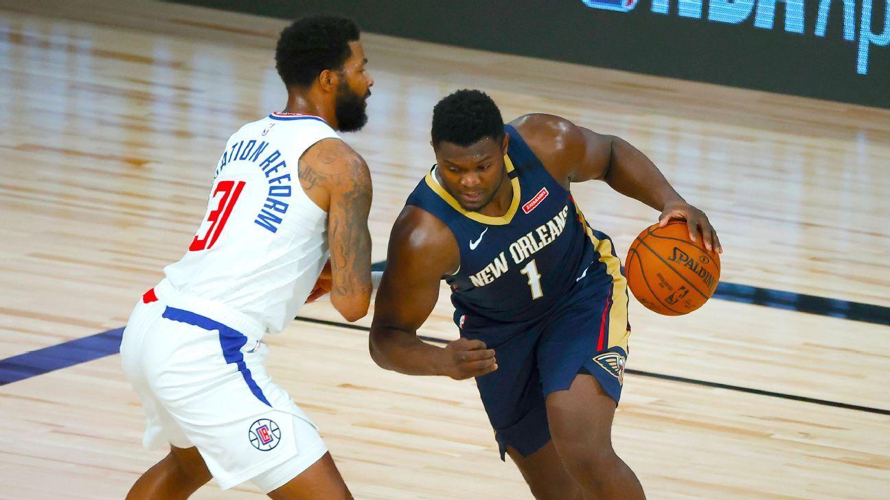Source: NBA restart jerseys going to auction