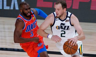 Thunder, Jazz pick up where they left off in March
