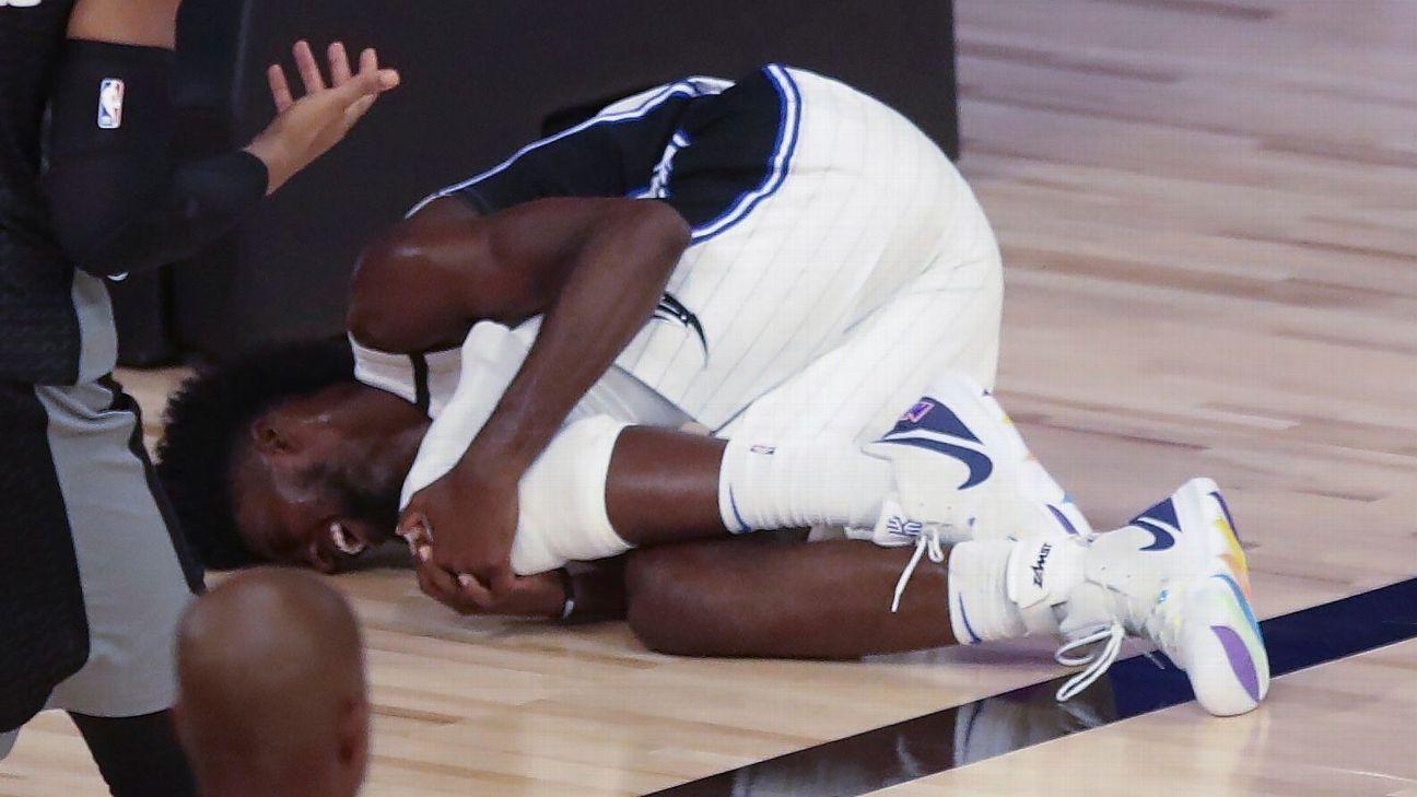 Magic forward Isaac tears left ACL vs. Kings