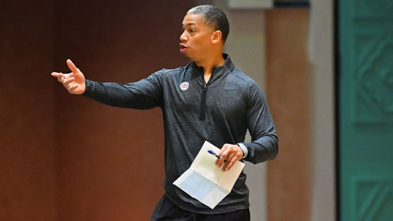 The NBA's back in the Tyronn Lue business