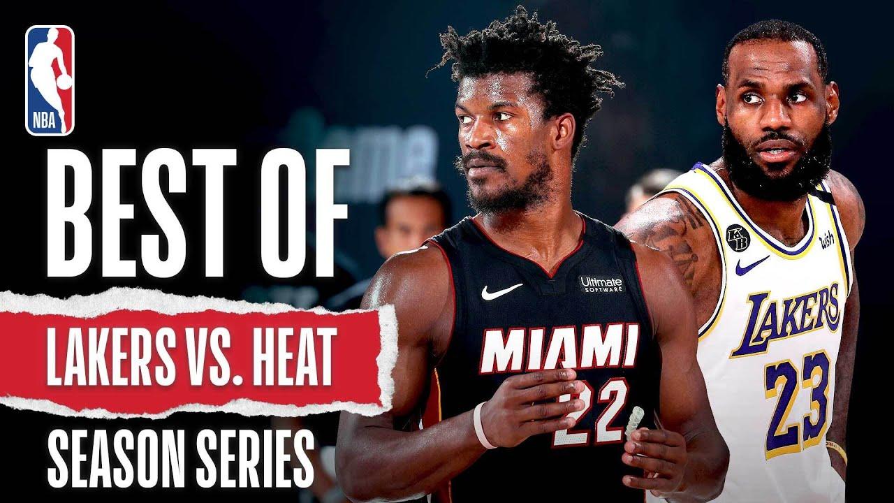 Best Of Lakers vs. Heat 2019-20 Season Series | Basketball ...