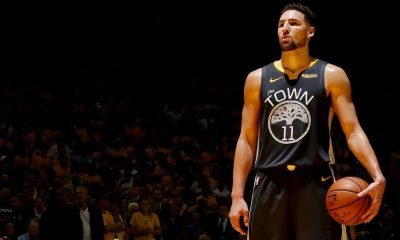 Warriors' Thompson participates in full practice