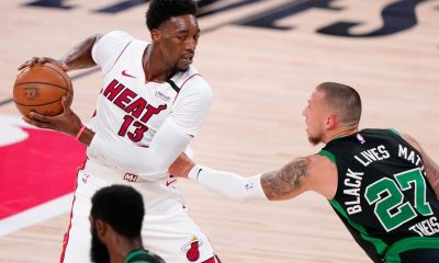 Heat's Adebayo shoulders blame for loss to Celts