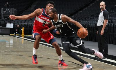 'Nervous' KD shines in Nets debut, return to court