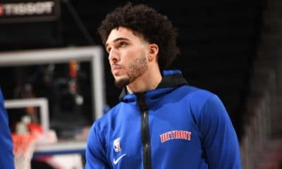 LiAngelo Ball among three waived by Pistons