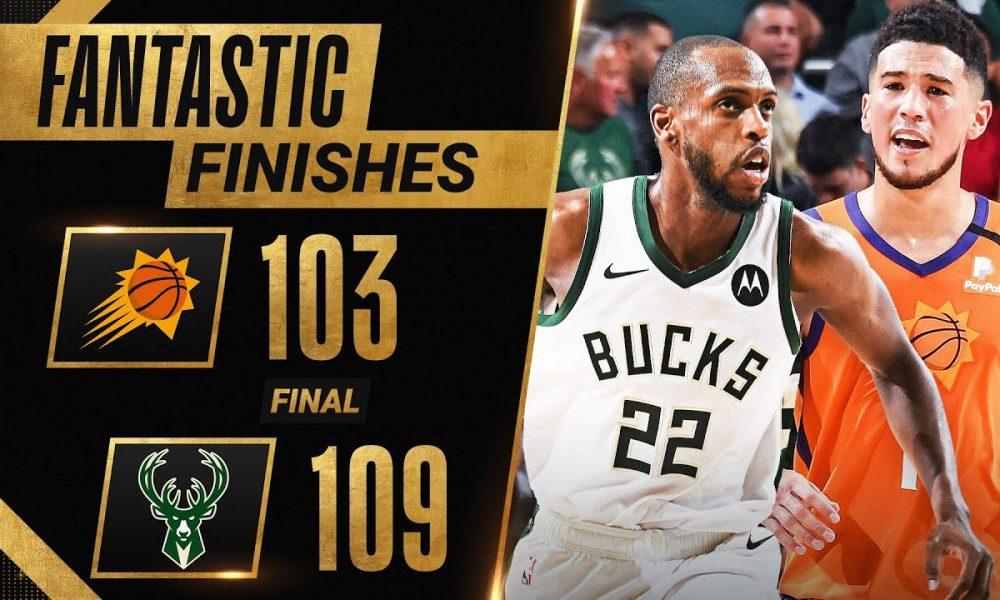 FINAL 3:15 of DRAMATIC Ending To Game 4 Suns vs. Bucks 🔥🔥 ...