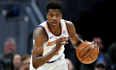 Ntilikina, Knicks' top pick in '17, signs with Mavs